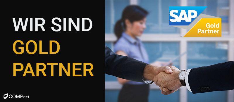 Wir sind SAP Gold Partner!